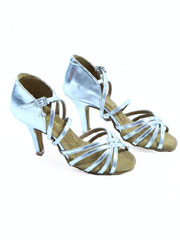 216 Silver BD DANCE 2.0 lady's latin dance shoes