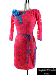 Alessia latin dance dress